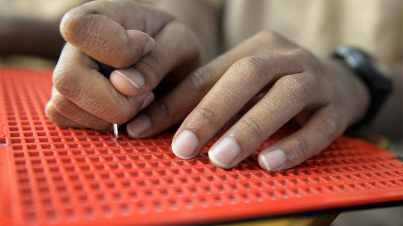 Visually impaired, blind voters to get braille voter slips