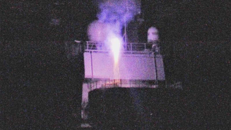 Navy surface to air missle: Navy successfully test fires surface-to