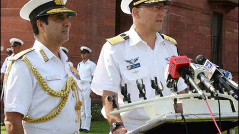 Israeli Navy Chief Admiral Ram Rutberg holds talks with top
