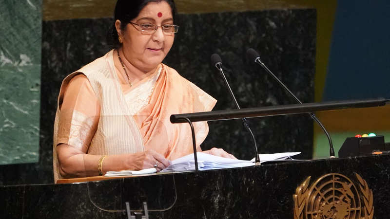 Sushma Swaraj championed India's interests on every platform