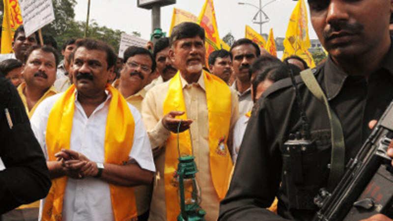 Chandrababu Naidu's walkathon enters 100th day - The