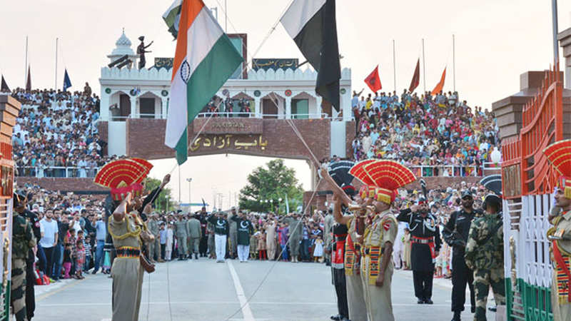Image result for wagah border images