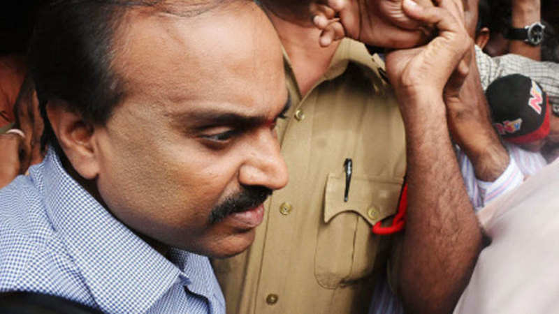 OMC mining case: Gali Janardhan Reddy, others appear in court - The