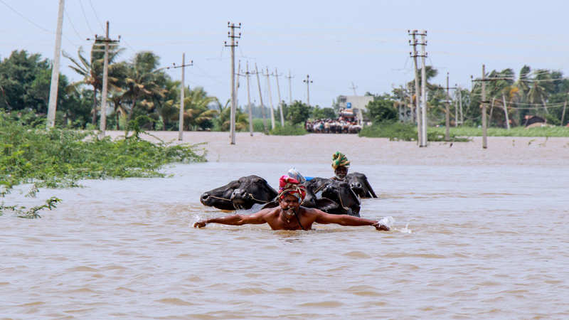 Flood toll at 225 in 4 states; relief operations intensify in Karnataka, Maharashtra but no respite in Kerala