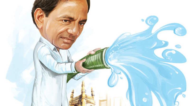 Telangana government's main projects revolve around water