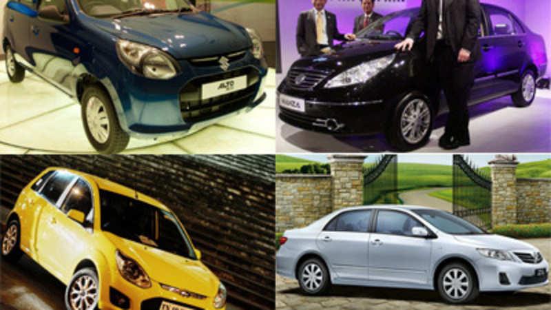 Auto allure: Recently launched cars like Alto 800, Quanto, Safari