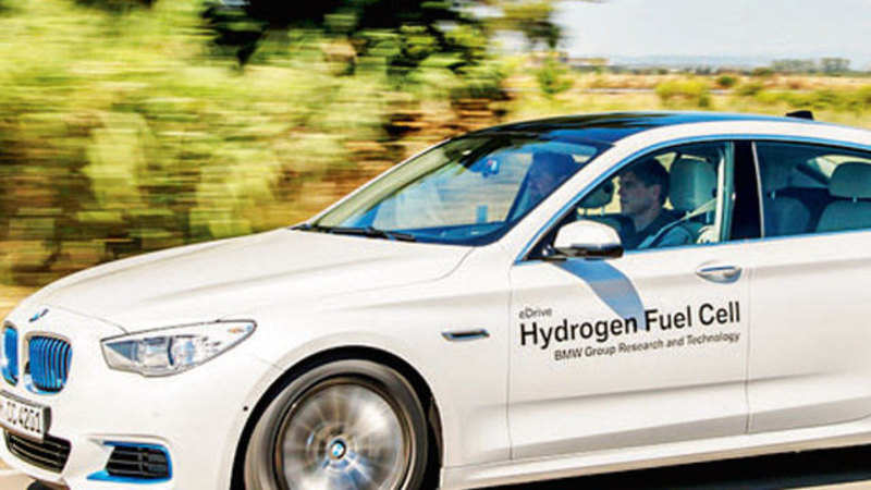 BMW starts testing first hydrogen fuel-cell car - The Economic Times