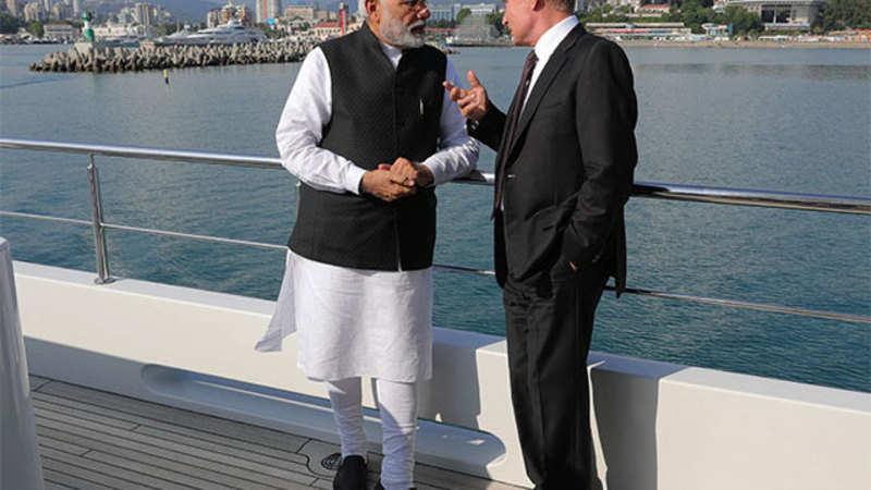 Vladimir Putin: Narendra Modi, Vladimir Putin agree on building