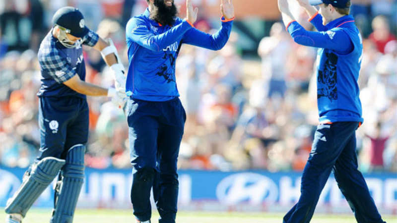 Cricket World Cup 2015 England Beat Scotland By 119 Runs