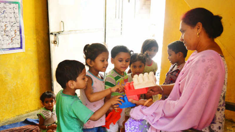 Anganwadi workers to be honoured next month - The Economic Times