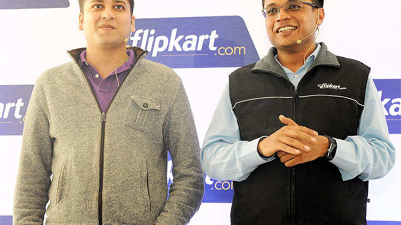 Flipkart: Flipkart co-founders bet big on startups with