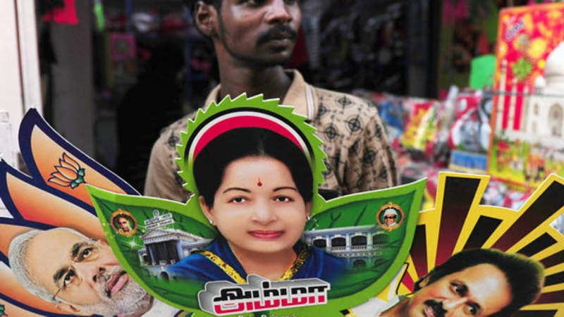 Tamil Nadus Top Leaders Jayalalithaa And Karunanidhi Vote