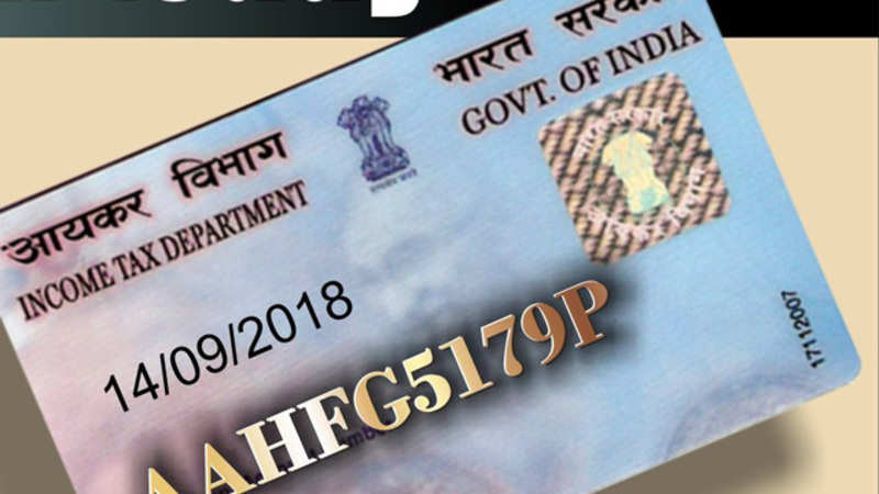 How NRIs can apply for PAN card in India - The Economic Times