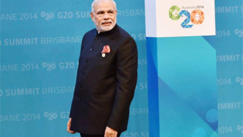Prime Minister Narendra Modi gets flavour of cricket ahead