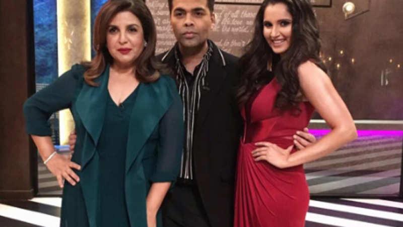 Koffee with Karan Next Episode: Sania Mirza makes a glamourous debut