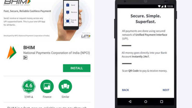 BHIM: How to step-wise download, use BHIM app for cashless transactions