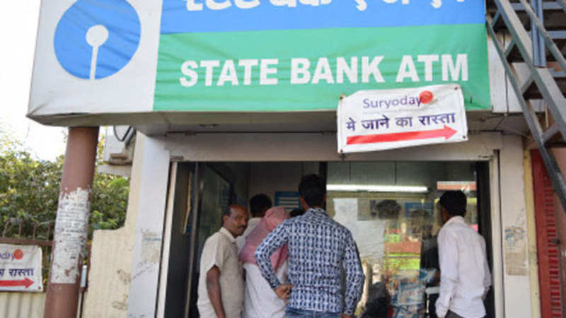 SBI ATM in Odisha spews out cash automatically, bank suspects