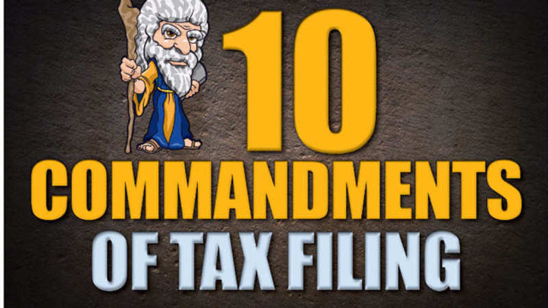 Income Tax Return Filing: Ten rules you must follow while