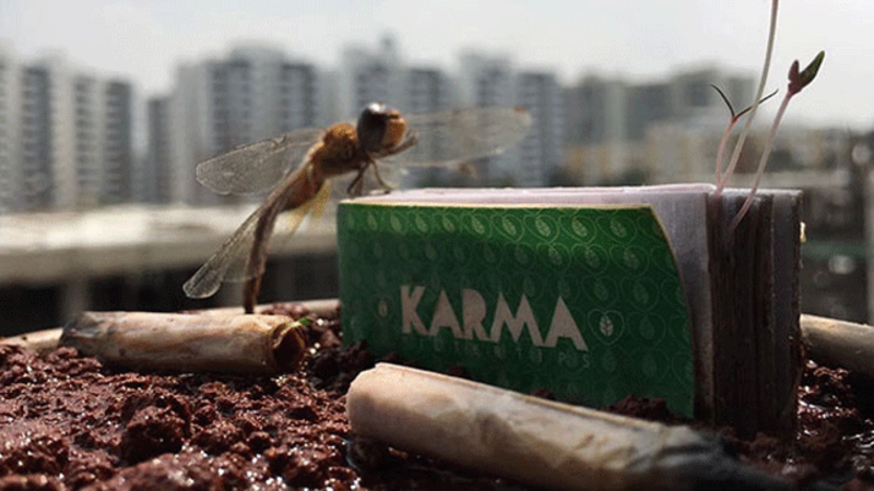 Karma Tips: Butt really? Karma Tips wants to save the planet - one