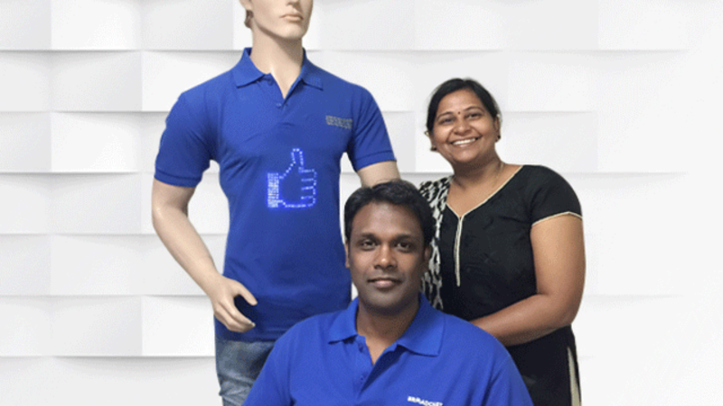 e0cc4951 Hyderabad-based Broadcast Wear wants to disrupt the entire wearable tech  industry by eliminating what they call the unnecessary accessories and  putting the ...
