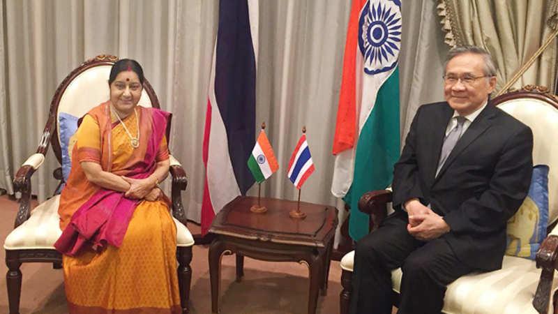 Sushma Swaraj: Sushma Swaraj discusses connectivity