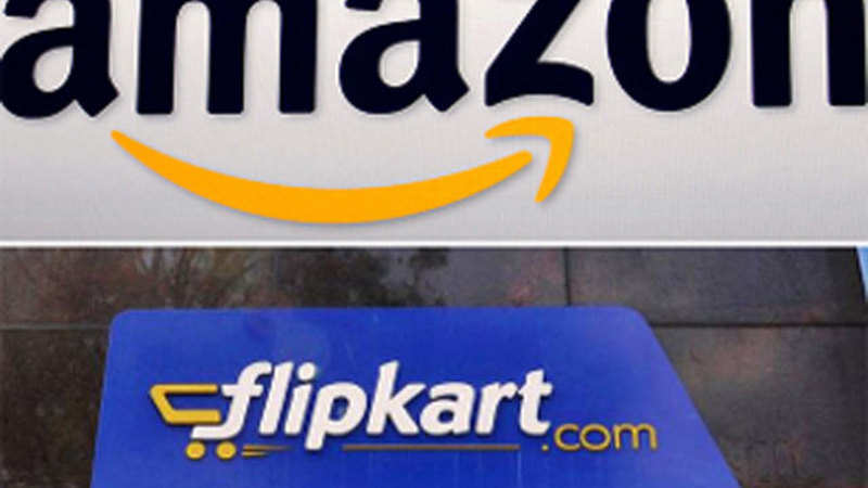 24bcd89c2faed Amazon India, Flipkart fight it out in first sale of 2018 with 80 ...