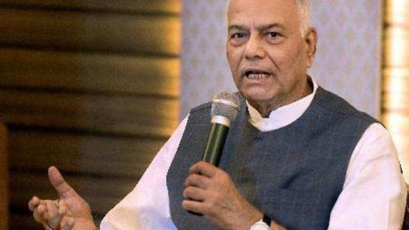 Image result for yashwant sinha