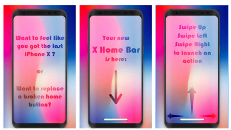 X Home Bar Now Get Gesture Control On Your Android Phone The