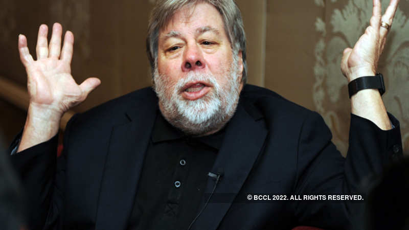 Steve Wozniak: 'Success in India is based on studying, having a job