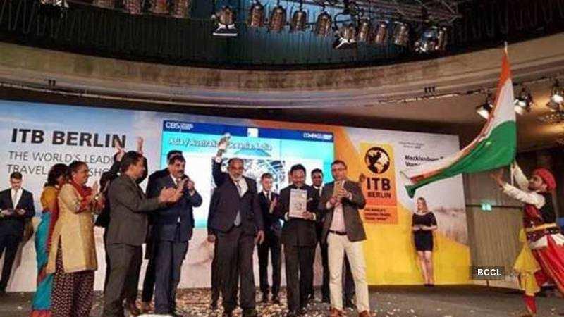 India wins best exhibitor award at International Tourism Festival