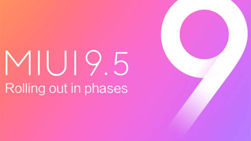 Xiaomi starts rolling out MIUI 9 5 Stable ROM: Here's a list of