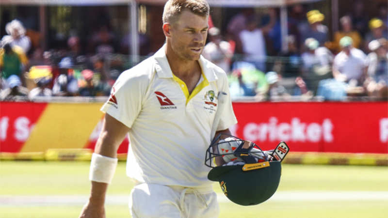 David Warner quits WhatsApp group of Aussie players - The Economic Times