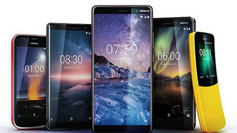 c5b7d57656f04b NEW DELHI: HMD Global, makers of Nokia brand of mobile phones, launched  four smartphones across price bands, as it aims to take more share in the  growing ...