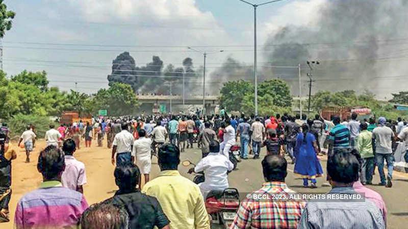 Tuticorin plant shutdown to affect over 800 SMEs - The Economic Times