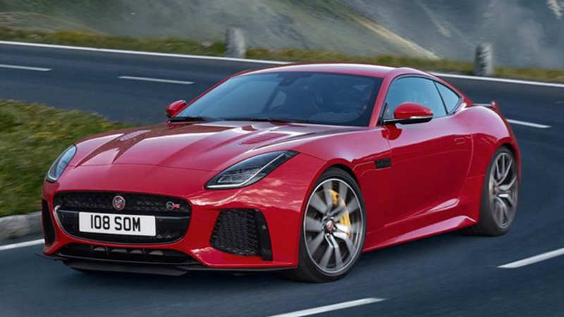 F Type Price >> Jlr Jlr Wheels In Jaguar F Type Svr At Starting Price Of Rs 2 65