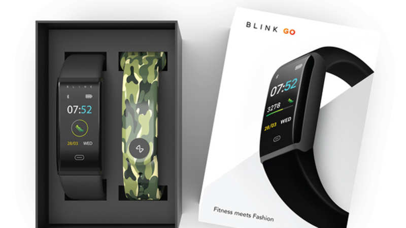 best cheap 5d82b 88e42 Blink Go: Myntra unveils first smart wearable device Blink Go at Rs ...