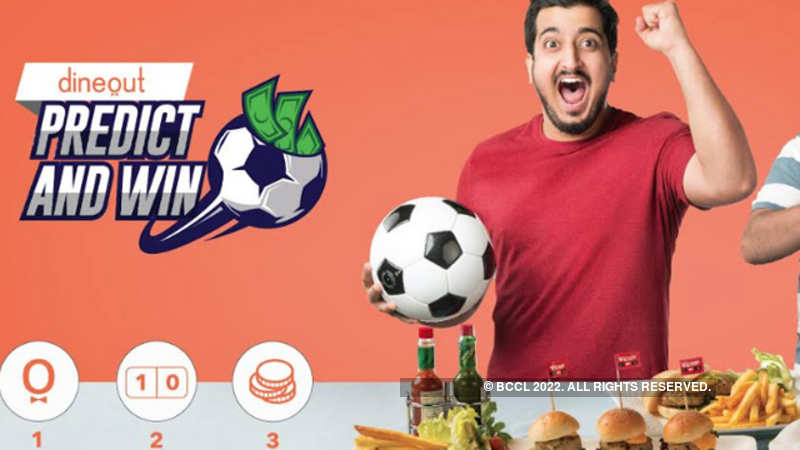 Dineout's Predict & Win Contest offers football fans a real treat