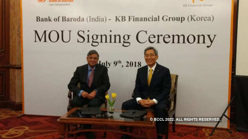 Modi-Moon meet: Bank of Baroda to partner with South Korea's KB