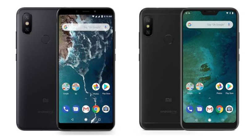 mi a2: Xiaomi Mi A2 and Mi A2 Lite Android One leaked online