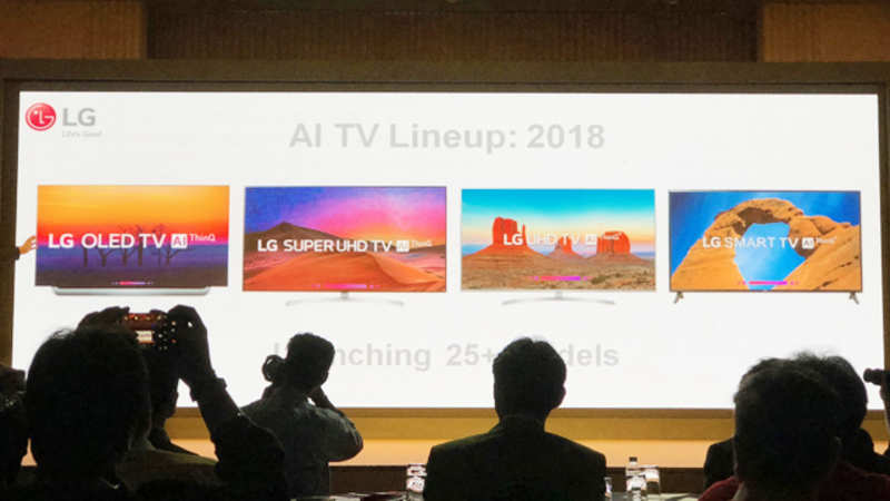 LG ThinkQ TV: LG ThinkQ TV with AI launched at starting