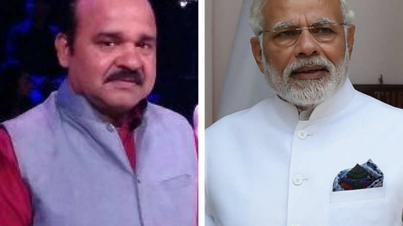 Dancing uncle' overshadows PM Modi on private Hindi news channels in