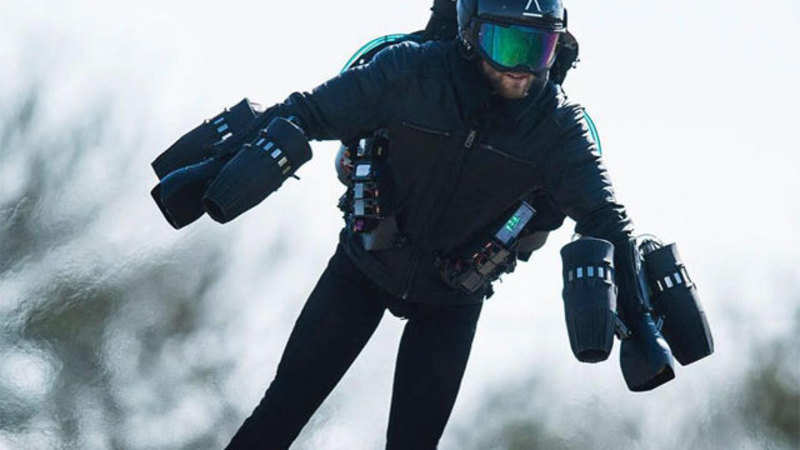 RICHARD BROWNING: This 'Iron man' flying suit can be yours
