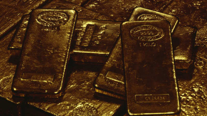 Gold Rate Today: Gold prices ease on strong dollar ahead of