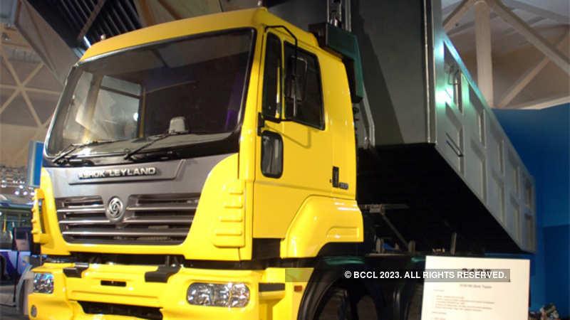 ashok leyland: Leyland ups volume guidance, says axle load fears