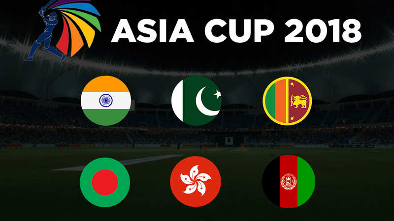 Asia Cup 2018: Match schedule and timings - The Economic Times