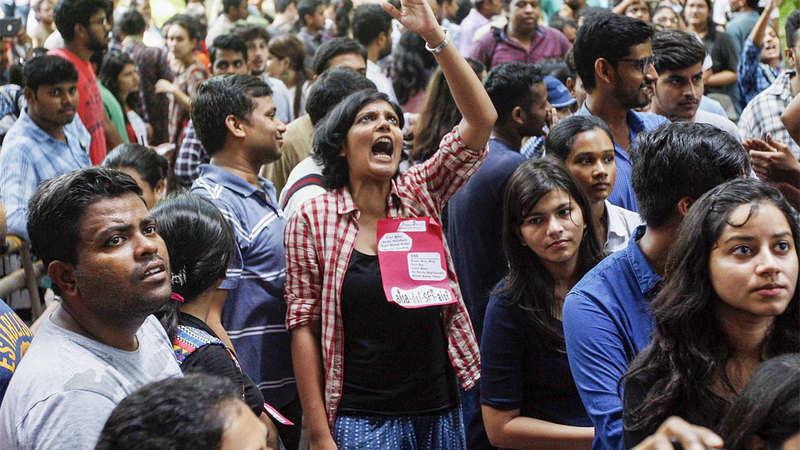 Image result for jnu students election