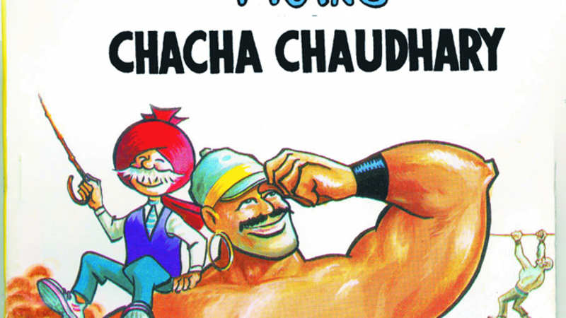 Chacha Chaudhary' to come alive in animation series - The Economic Times