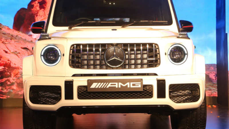 AMG G 63: Luxe on wheels: Mercedes-Benz drives in new AMG G