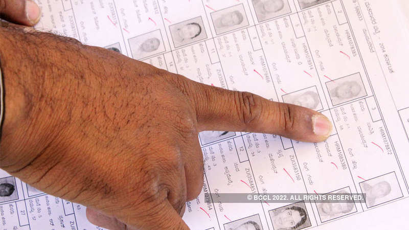 Eligible persons can enrol names into voters' list till Nov 19