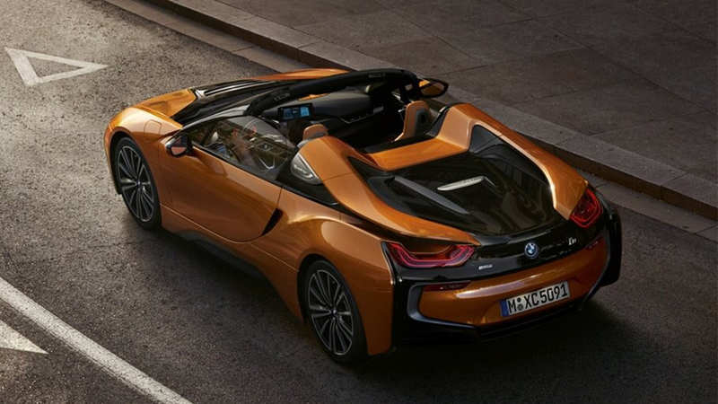 BMW's new $163,300 extremely drivable i8 Roadster will get
